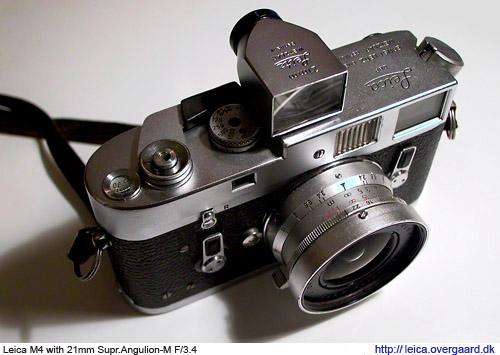 The Leica M4 camera