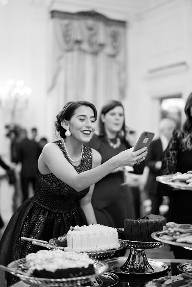 "At the White House Christmas Party I decided for a discrete camera as ""no professional cameras"" were allowed. Leica M10 with Leica 50mm Summilux-M ASPH f/1.4. © Thorsten Overgaard."
