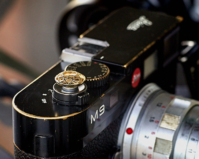 Soft release for the Leica M by Bashert Jewelry.