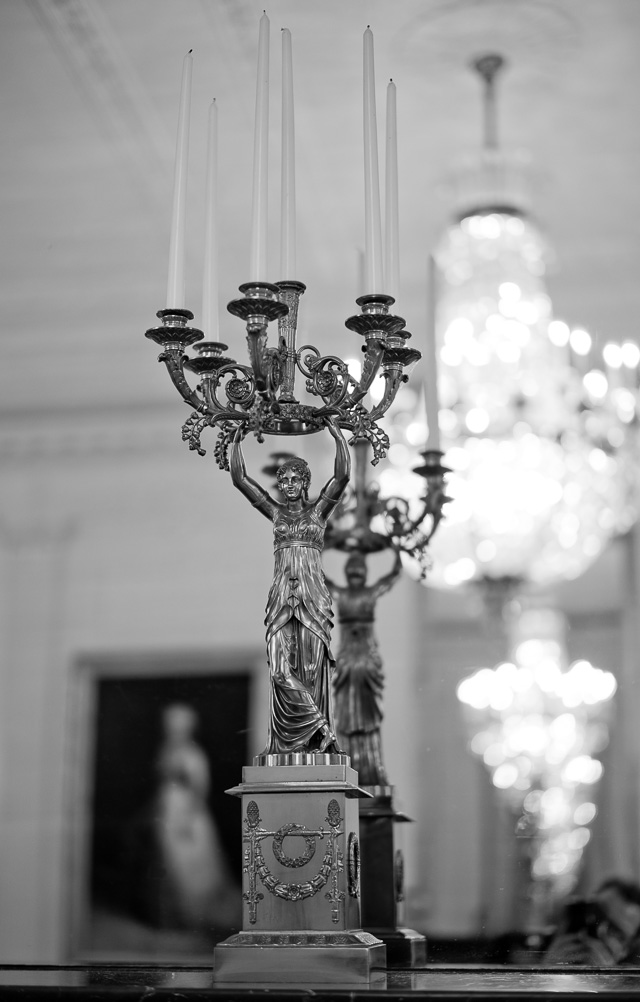 State Dining Room, The White House. Leica M10-P with Leica 50mm Summilux-M ASPH f/1.4 BC. © Thorsten Overgaard.