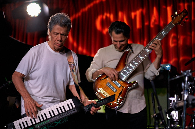 Chick Corea and John Patitucci. Leica M10 with Leica 75mm Noctilux-M ASPH f/1.25. © 2018 Thorsten von Overgaard.