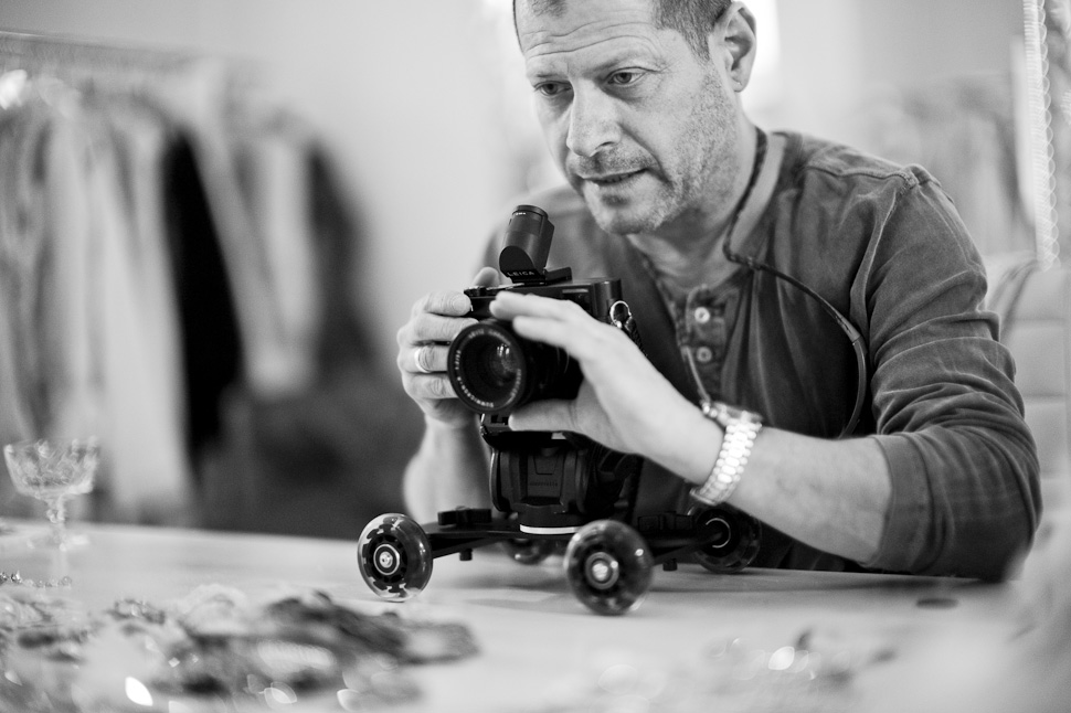Johnnie Behiri working with the Leica M Type 240