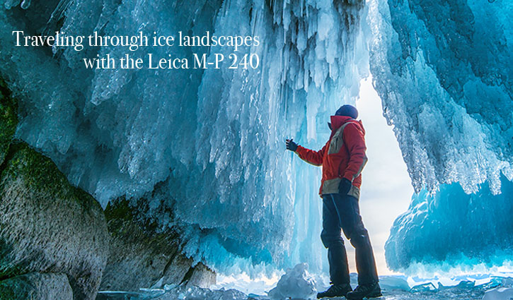 Traveling through ice landscapes with the new Leica M-P 240 Safari