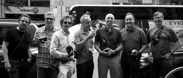The group photo is always lacking despite all the cameras. Thanks to William to get one done. William Alvarez. Leica M Monochrom with Leica 35mm Summilux-M ASPH f/1.4 FLE.