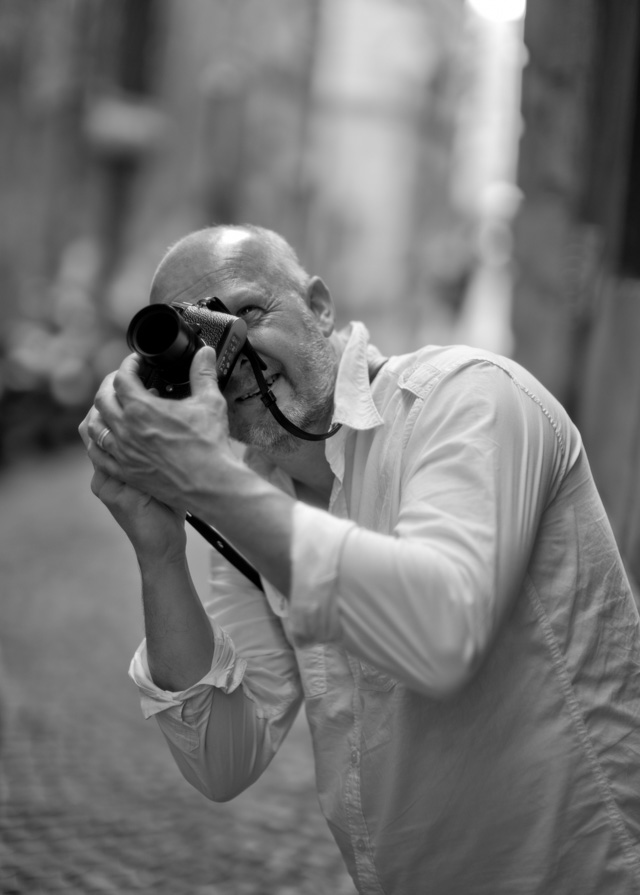 Morten Albek in Rome. Leica M 246 with Leica 50mm Noctilux-M ASPH f/0.95. © 2016 Thorsten Overgaard.