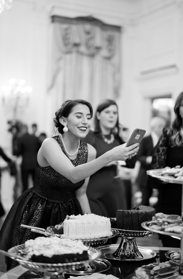 Food and Christmas. Here it's the White House Christmas reception 2017. Leica M10. © Thorsten Overgaard.