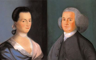 "America's First Power Couple: Charismatic John Adams (""potus2"" from 1797 to 1801 of the Federalist Party), and his wife Abigail, an opinionated, well-read woman, ready to take on any challenge. Abigail worked at helping her husband build a new nation, expressing her thoughts and opinions to him on everything from a woman's role in government, to the education system, and even slavery."