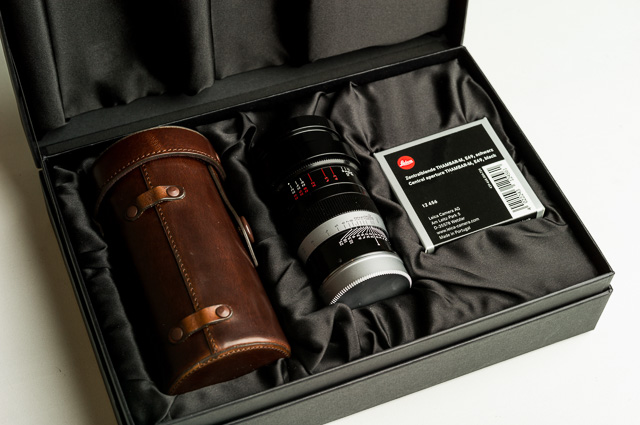 The new Thambar comes in this box. Leica S2 and Summarit-S 70mm f/2.5 ASPH CS. © 2018 Milan Swolfs.