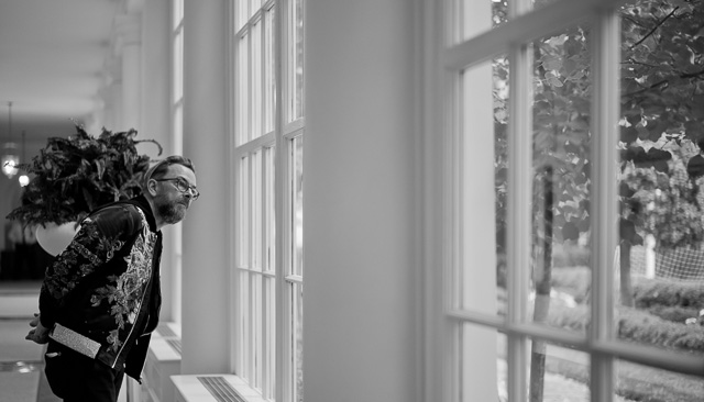 Thorsten Overgaard visiting the East Wing of The White House. Leica M10 with Leica 50mm Summilux-M ASPH f/1.4.