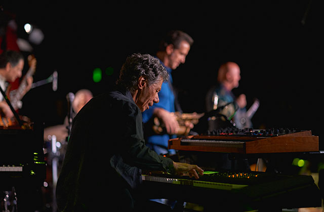 Chick Corea Electric Band. Leica M10 with Leica 75mm Noctilux-M ASPH f/1.25. © 2018 Thorsten von Overgaard.