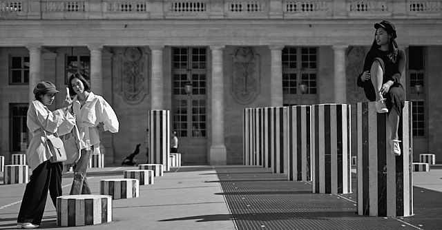 Palais Royal in Paris. Leica M10-P with Leica 50mm APO-Summicron-M ASPH f/2.0 LHSA. © Thorsten Overgaard.