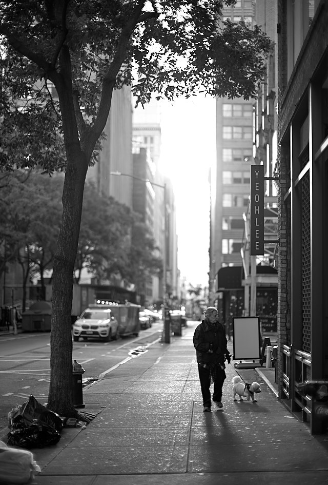 Early Sunday morning on 29th Street in New York. Leica M10-P with Leica 50mm Noctilux-M ASPH f/0.95. © Thorsten von Overgaard.