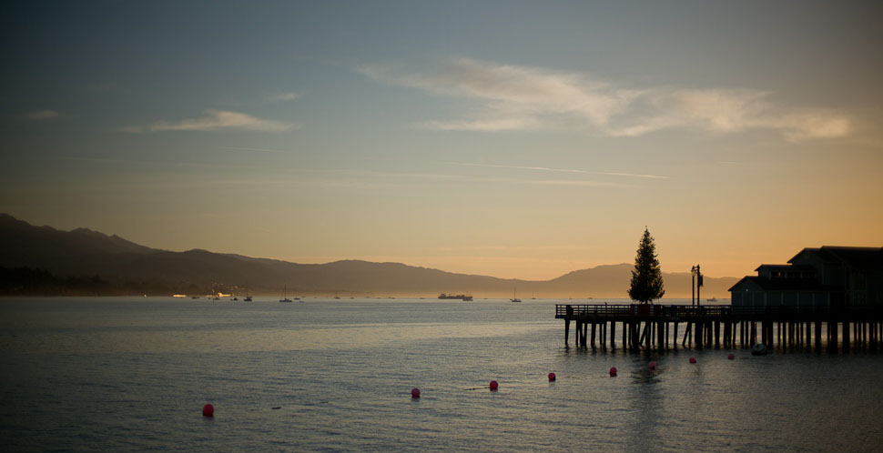 Christmas is about calm and peacful times, as here in Santa Barbara in California. Leica M240 with Leica 50mm 50mm Noctilux-M ASPH f/0.95. © 2014-2018 Thorsten Overgaard.