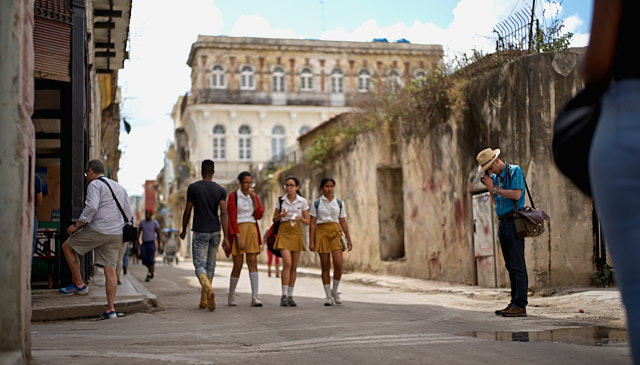 Old Havana Cuba. Leica M10-P with Leica 50mm Summilux-M ASPH f/1.4 BC. © Thorsten Overgaard.