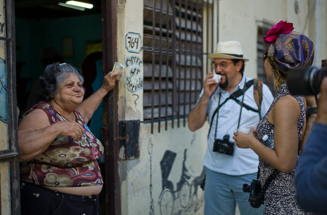 Getting strong coffee in Havana, Cuba. Leica M9 with Leica 50mm Summilux-M ASPH f/1.4 BC.