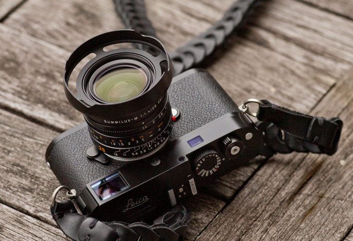 Ventilated Lens Shade for the Leica 28mm Summilux-M f/1.4