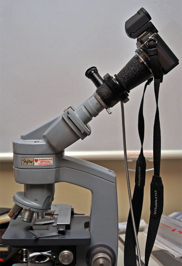 Leitz Micro-Ibso Photomicrography Attachment MIKAS-M