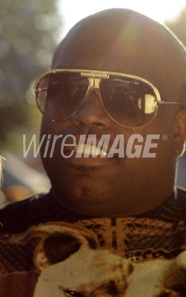 Cee-Lo Green (Thomas Callaway) of Gnarls Barkley portrait session at Roskilde Festival 2008