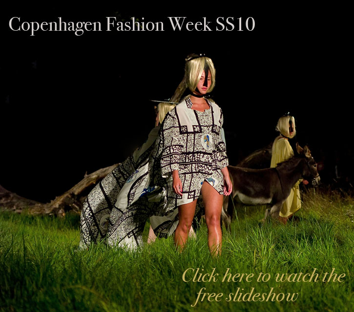 Copenhagen Fashion Week 2009 slidehow