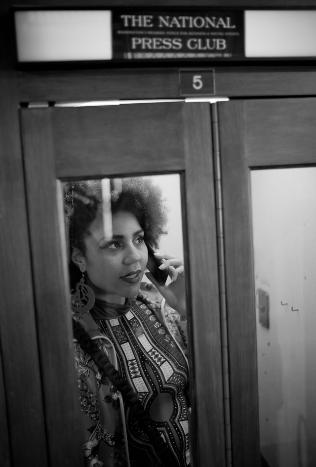 Joy Villa At The National Press Club in Washington DC. Old school and classy. Leica M10 with Leica 35mm Summilux-M AA f/1.4. © 2017 Thorsten Overgaard.