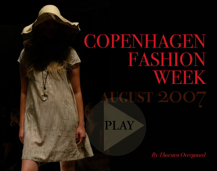 Copenhagen Fashion Week soundslide