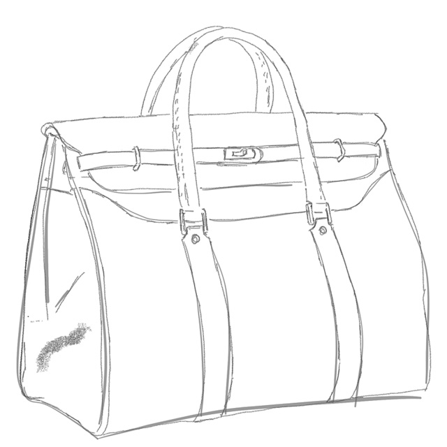 The Von 24hr Bag is 28 cm deep, 50 cm long and 42 cm high (without handles).