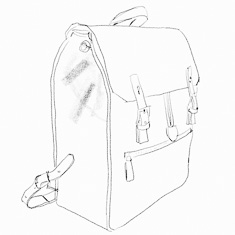 """A backpack for Thorsten von Overgaard that can act as a travel camera bag or on-location camera bag holding a Billingham insert and MacBook Pro 15""""."""