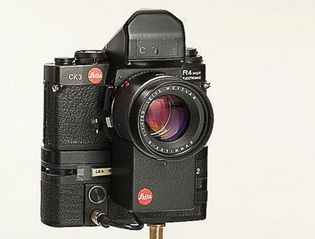 Leitz Leica prototype R4mot with auto-focus