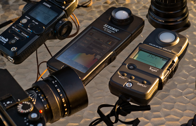 The Sekonic C-700 SpectroMaster and the Kenko KCM-3100. © 2015 Thorsten Overgaard.