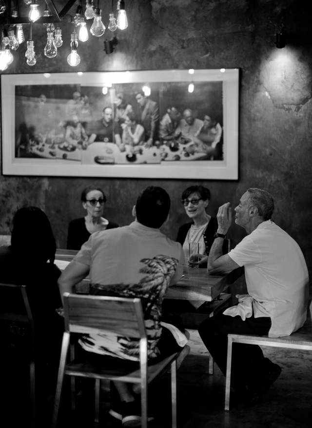 Sunday diner with the Mafia family in Bangkok. Leica M 240 with Leica 50mm Noctilux-M ASPH f/0.95.
