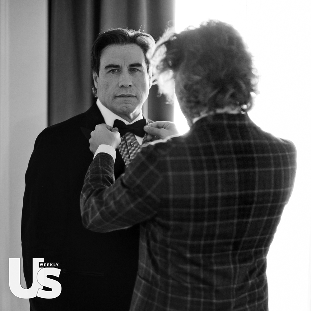 John Travolta and Matteo Perin from an article in US Weekly from Cannes. Also The Rake reported. © 2018 horsen von Overgaard.