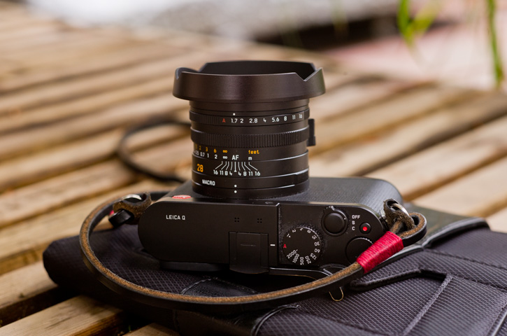 Leica Q Ventilated Lens Shade  for Adventurers
