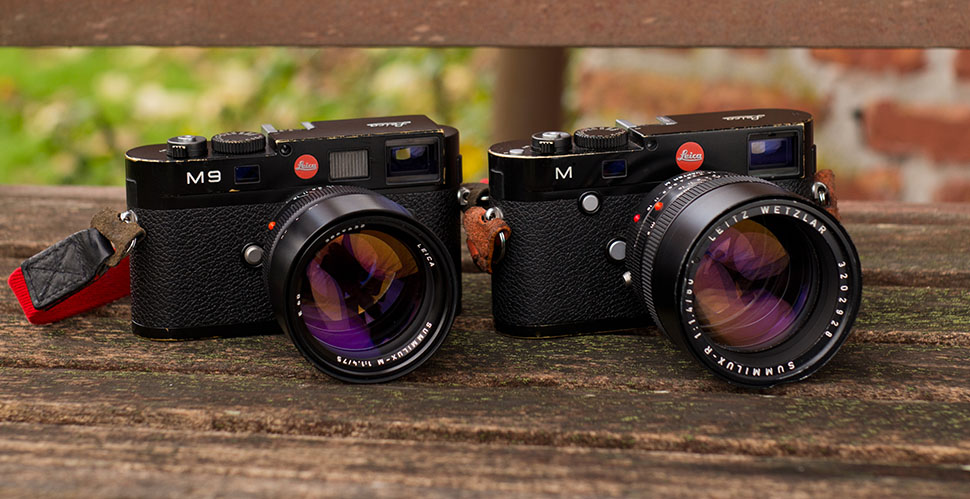 Leica 75mm Summilux-M f/1.4 (model no 11 810) from 1999 on Leica M9 vs Leica 80mm Summilux-R f/1.4 mounted on Leica M 240