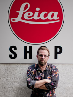 Thorsten Overgaard at Leica Shop Vienna