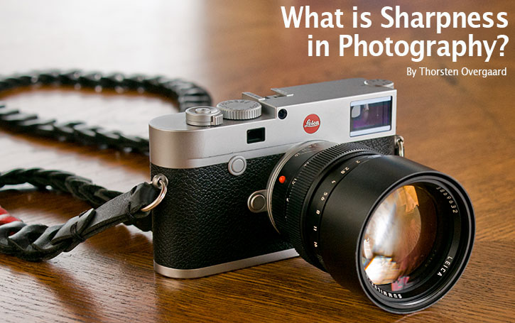 "The Story Behind That Picture 202 ""What is Sharpness in Photography?"