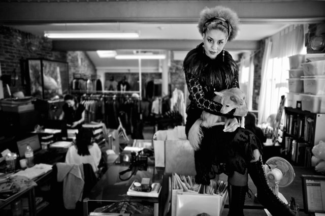 We shot Bolongaro Trevor designs on Joy Villa inside their office in London, and even their dog was in the shoot. Here's Joy Villa on a desk with the dog Cheui Bolongaro! Leica M 240 with Leica 21mm Summilux-M ASPH f/1.4