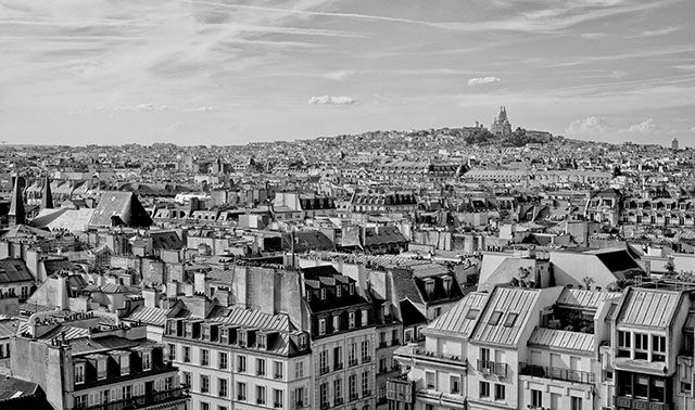 The skyline of Paris. Leica M240 with Leica 50mm Summicron-M f/2.0 II. © 2013-2017 Thorsten Overgaard.