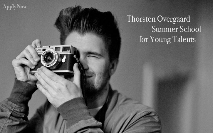 I invite all young talent to apply for the free Thorsten Overgaard Summer School for Young Talents.