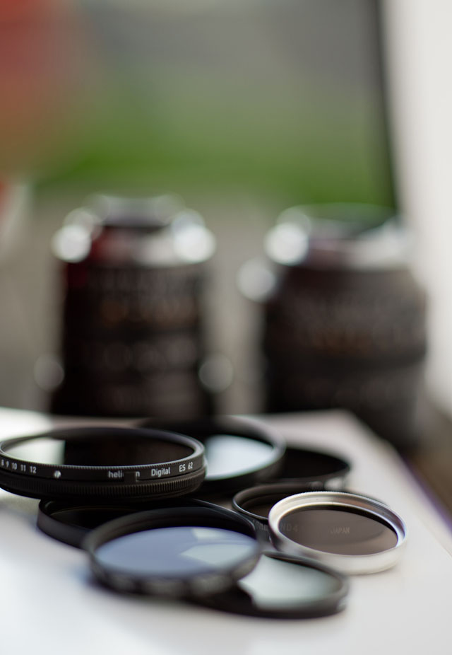 Neutral Density filters © Thorsten Overgaard