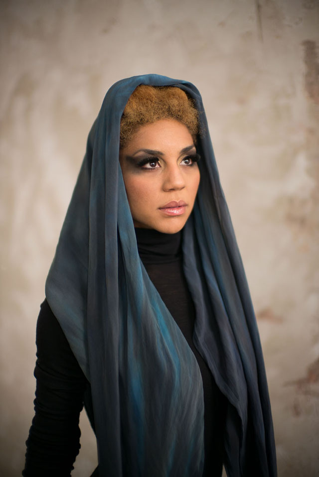 Student photo from Vienna by Gerhard Chabus. Joy Villa in Steinwidder design. Makeup by Cori Coccoi.