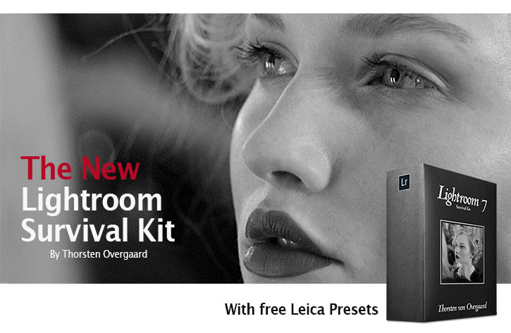 The New Lightroom Survival Kit by Leica expert and multiple award