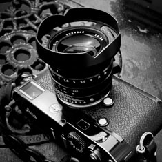 Leica 35mm f/1.4 FLE Ventilated Lens Shade for Adventurers by Thorsten von Overgaard