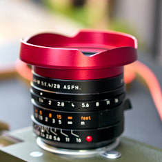 Ventilated Lens Shade for Leica 28mm Summilux-M iASPH f/1.4.