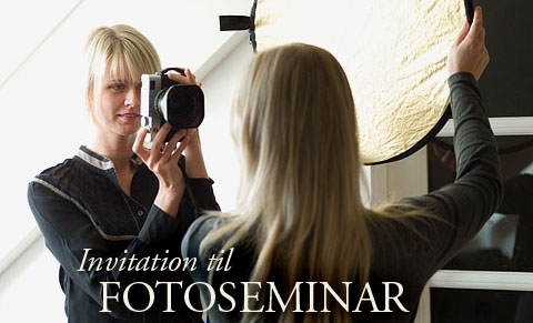 Invitation til fotoseminar
