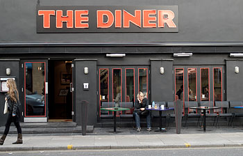 The DINER in Cambden London