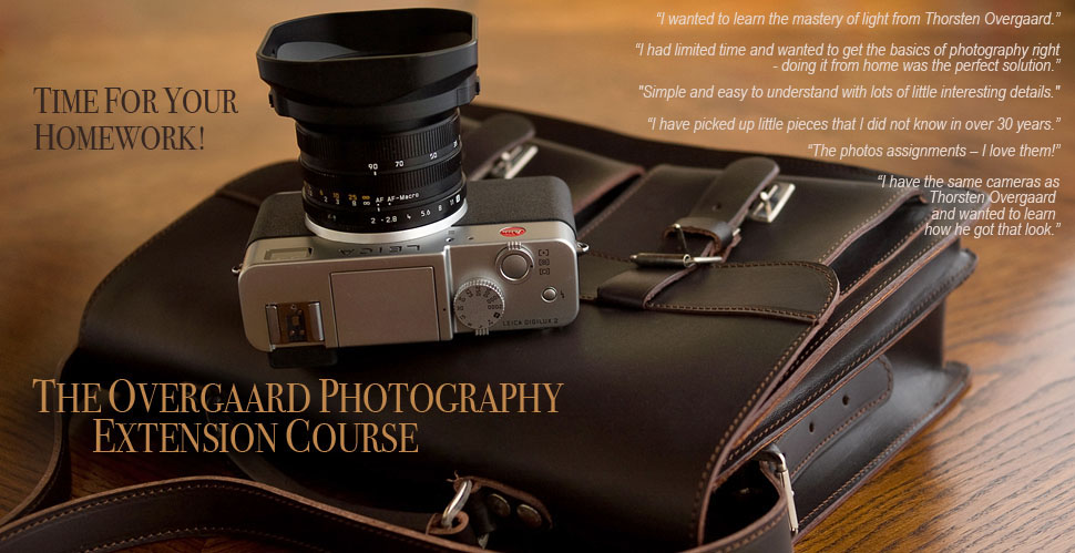 The Thorsten Overgaard Photographic Extension Course