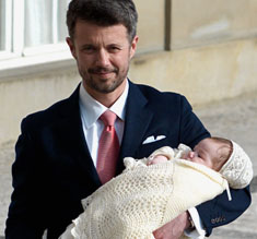 Crownprince Frederik of Denmark