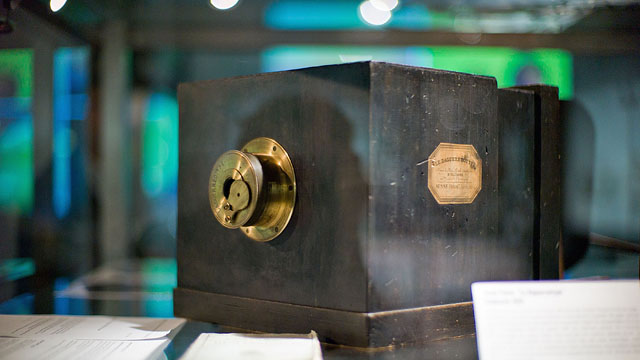 Daguerre-type camera