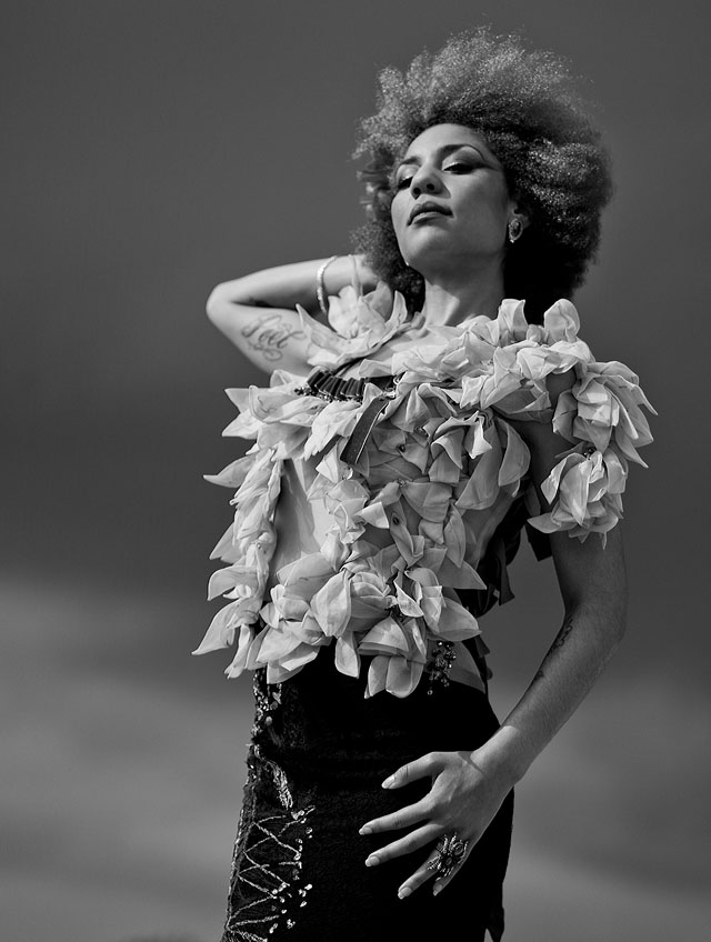 Leica M Monochrom with Leica 90mm APO-Summicron-M ASPH f/2.0. American singer and model Joy Villa.