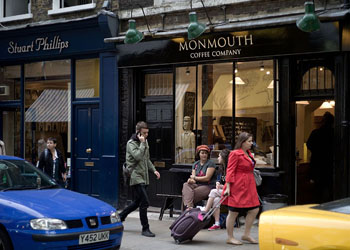 Monmouth Coffee Company at Monouth Street
